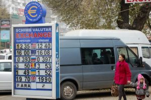 Daily exchange rates advertised everywhere - what a grim reminder...