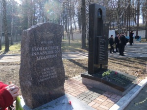 Afghan and Transnistria war plaques