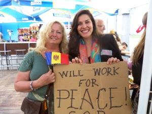 Me and Romy, hustling for peace...