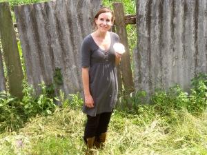 Robyn, with mushroom