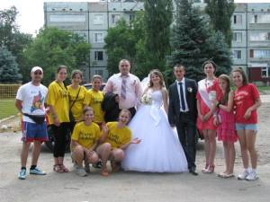 South Taraclia - wedding party