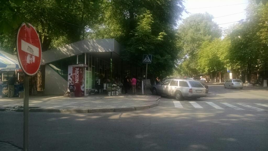 Flower Market on Bodoni