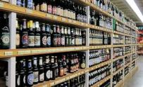 Aisles and aisles of beer